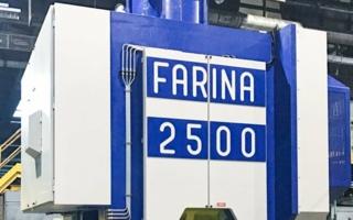 Farina liefert 2500-t-Maschine an Automobilzulieferer