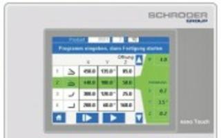 Steuerungssoftware für Schwenkbiegemaschinen
