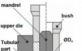 Flange upsetting of tubular components