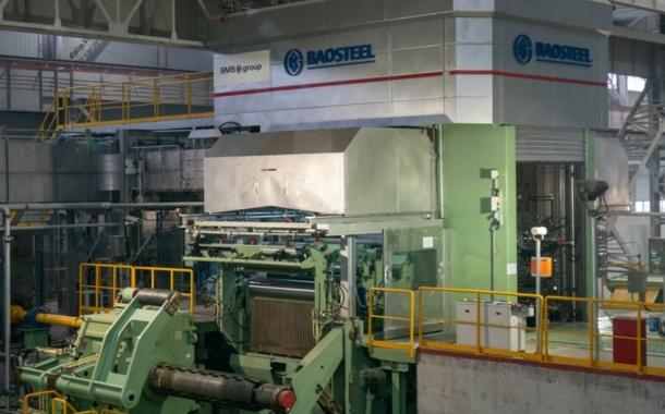 SMS nimmt Aluminiumkaltwalzanlage bei Baowu in Betrieb