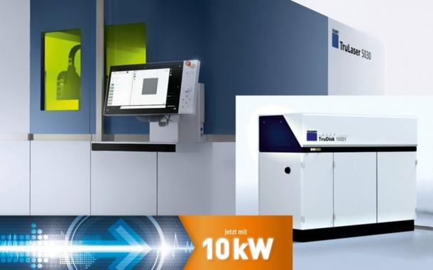 Mehr Flexibilität mit 10-kW-Laserleistung