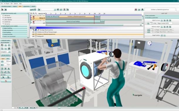 3D-Human-Simulation für CAD-Formate