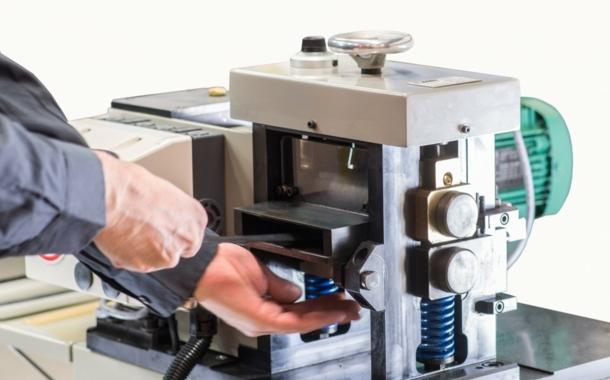 "Setic ""MPE 120"" high precision slicing/fending-off machine"
