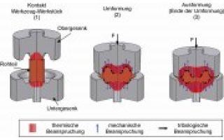 Untersuchung zu den Verschleißeigenschaften nitrierter und beschichteter Werkzeuge für die Warmmassivumformung
